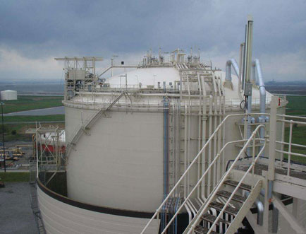 Natural gas storage equipment