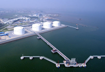 Fujian LNG stationpipeline project