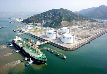 Zhejiang LNG project